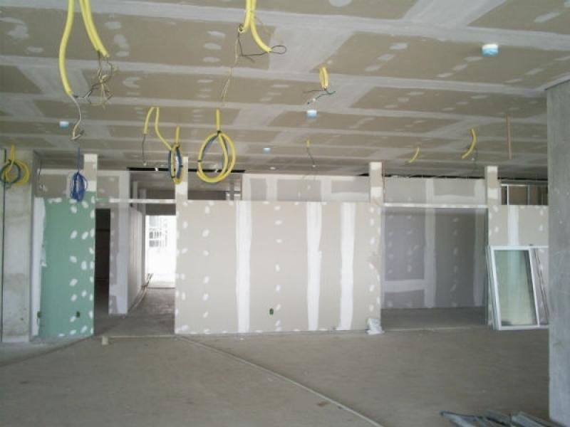 Comprar Drywall Parede Externa Rio de Janeiro - Parede de Gesso Drywall