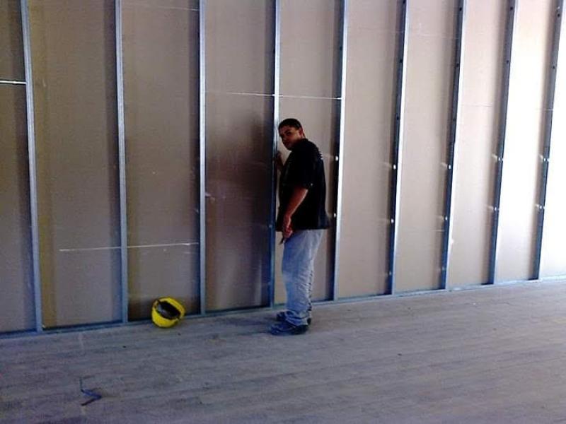 Comprar Parede de Gesso Drywall Mesquita - Parede de Drywall