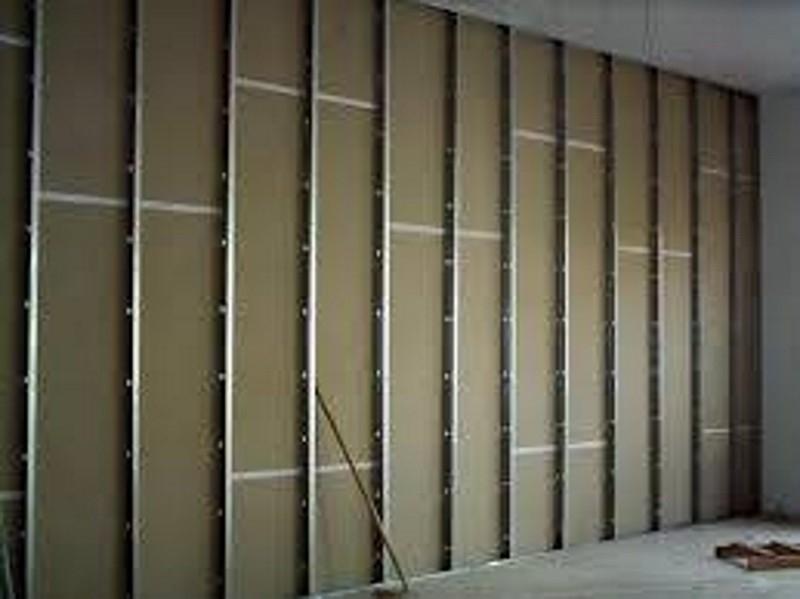 Divisória de Drywall com Porta Petrópolis - Divisória Drywall
