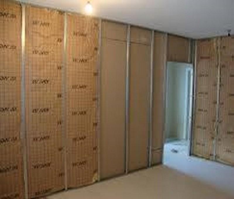 Divisória Drywall Acústica Guapimirim - Divisória Drywall com Vidro
