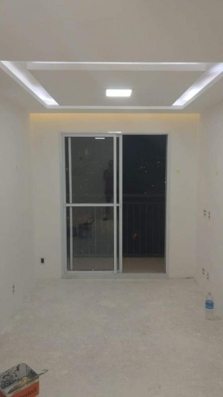 Divisória Drywall com Vidro Lagoa Leme - Divisória Drywall com Vidro