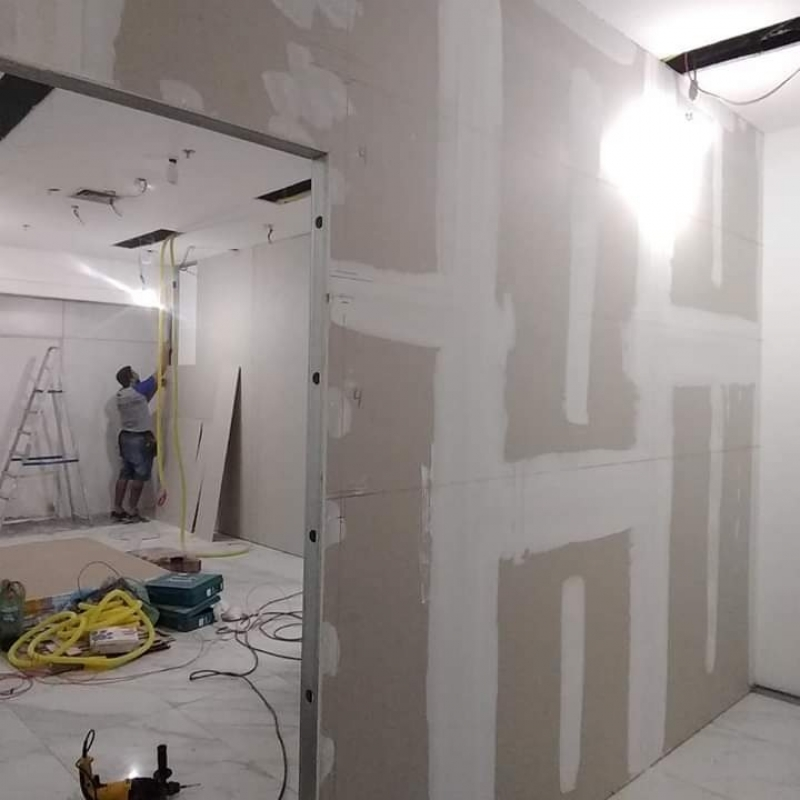 Divisória Drywall Orçamento Niterói - Divisória Drywall