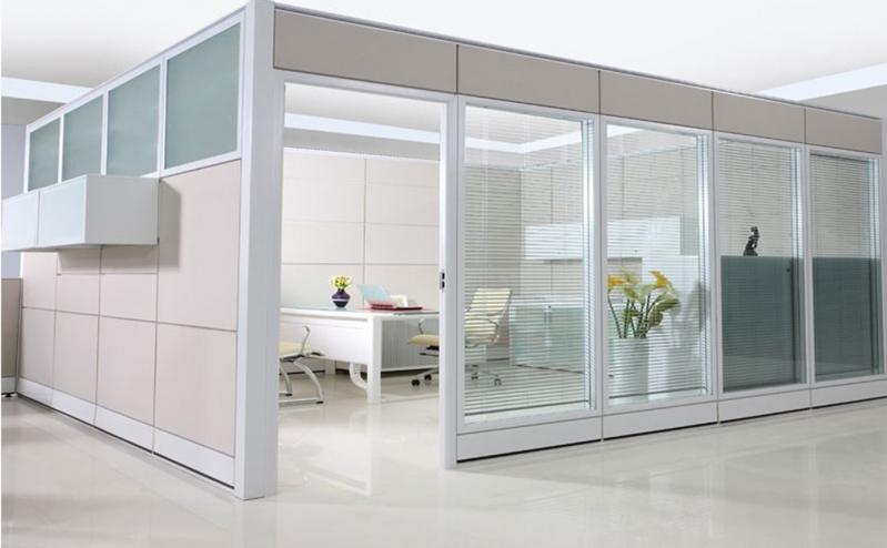 Divisórias Drywall com Vidro Guapimirim - Divisória Drywall