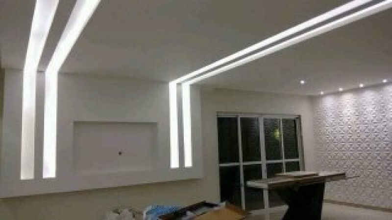Parede Drywall Apartamento Nilópolis - Parede Drywall área Externa