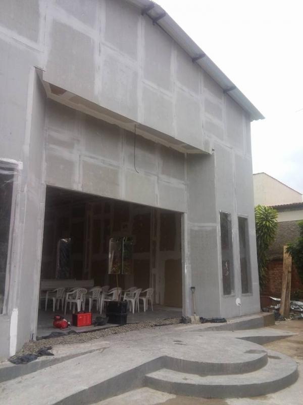 Parede Drywall área Externa Itaboraí - Drywall Parede