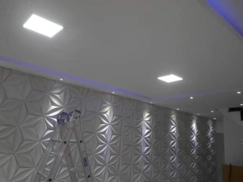 Parede Drywall Quarto Guapimirim - Parede de Gesso Drywall