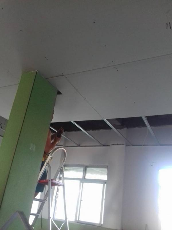 Parede em Drywall Preço Belford Roxo - Parede em Drywall