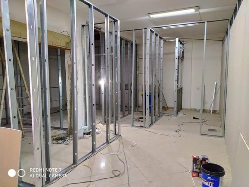 Paredes Drywall Estrutura Parada Modelo - Parede Drywall Quarto
