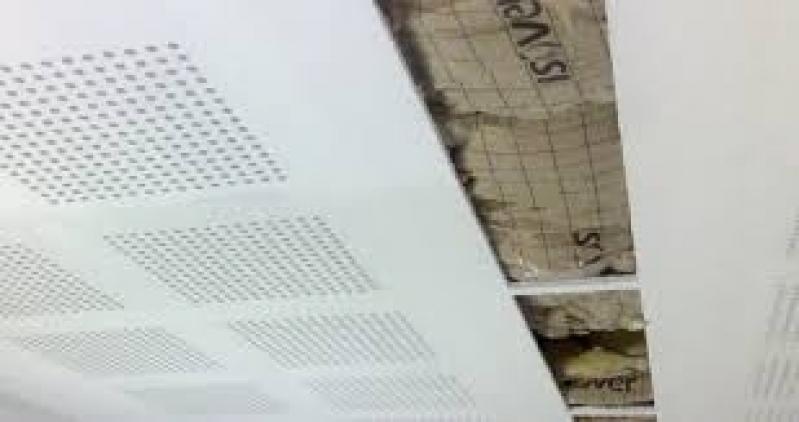 Placa Drywall Acústica Belford Roxo - Placa Drywall Standard