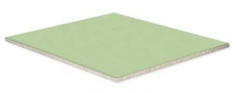 Placa Drywall Verde Rio de Janeiro - Placa Drywall Branca