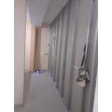 divisórias de drywall com porta Parada Modelo
