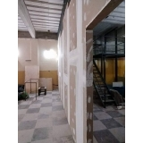 divisórias drywall acústica Niterói