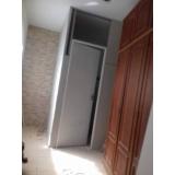 divisória drywall com porta