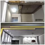 divisória drywall sala