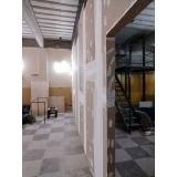 loja de divisória de drywall com porta lagoa leme