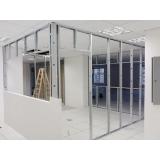 loja de divisória drywall com vidro Grajaú