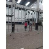 parede drywall estrutura Guapimirim