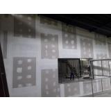 parede drywall externa preço Teresópolis