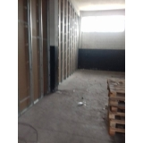 parede drywall área externa