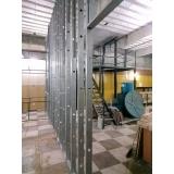 parede drywall estrutura