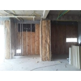 parede drywall externa