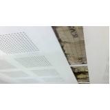 placa drywall acústica Grajaú