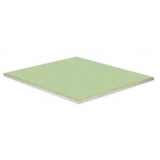 placa drywall verde