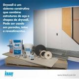 placas gesso drywall Rio de Janeiro